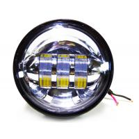 Quality 4.5 inch Harley Davidson motorcycle Fog lights , with 30w cree chip with 6000K Xenon White color light for sale