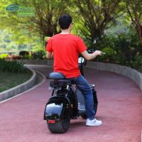Quality EcoRider Smart Cool 18inch 60v 1500W Harley 2 Wheel Electric Scooter With Seamless Steel Tube Frame and EEC certificate for sale