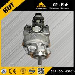 Quality komatsu WA700-1R gear pump 705-56-43010, WA250PZ-6 705-56-43010 705-56-36080 for sale