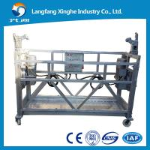 Quality 7.5m / 6m aluminium alloy / hot galvanized suspended platform / work platform for sale