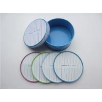 Quality Novelty Tin Coaster Set for sale