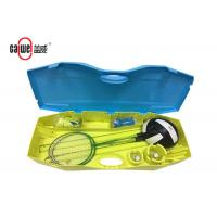 Movable Tennis Badminton And Volleyball Set , Heavy Duty Badminton Set With Net