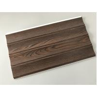 Quality Wooden Groove Laminate Wall Panels , Commercial Washable Wall Panels for sale