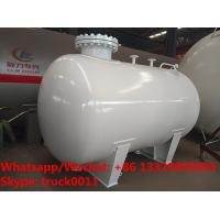 Quality cheapest price smallest 3-5m3 bulk lpg gas storage tanks for sale, Factory sale best price mini lpg gas cylinder tank for sale