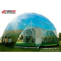 Buy Outdoor Diameter 15M Geodesic Dome Tent For Brand Ceremony Tent at wholesale prices