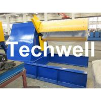 Quality Custom Hydraulic Auto Recoiler Curving Machine With 0 - 15m/min Rewind Speed for sale