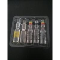 Quality Customized 1ml Glass Ampuler With The Packing Boxes And Blister In A Set for sale