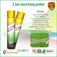 Quality Quick Color Line spray marker paint For Concrete / Asphalt / Glass / Wood for sale