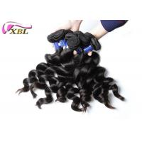 Quality One Young Girl's Healthy Peruvian Virgin Hair Loose Wave Bundles Natural Color for sale