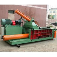 China Safety Hydraulic Metal Baler Baling Press Machine For Scrap Stainless Steel Aluminum Waste Metal on sale