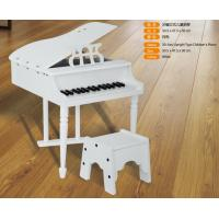 Quality Luxurious 30 Key Mini Grand Toy Wooden Piano With Stool Straight Leg FW30A for sale
