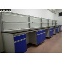 Fashion Design Modular Lab Furniture With Adjustable Footing Wooden Cabinets
