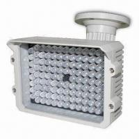 Quality IR Illuminator with 3-axis Bracket and 125m IR Night Vision Distance, 12V DC Input Voltage for sale