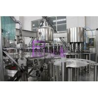China High Speed Hot Filling Machine Fruit Juice Filling And Capping Machines Volumetric Type on sale