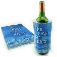 Buy cheap Eco-friendly Gel Ice Pack Plastic Reusable Wine Bottle Cooler Pack for Drinks from wholesalers