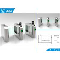 Quality Traffic Fence Swing Barrier Turnstile Security Control Self - Checking Function for sale