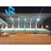 Quality Galvanized Steel Grandstand Seating Stable Performance For Hockey Sports Field for sale