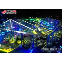 Quality High Reinforce Frame Transparent / Clear Top Tent With Beautiful Wedding Marquees for sale