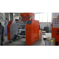 Quality PP Food Cling Film Rewinding Machine , low noisy slitter rewinder machine for sale