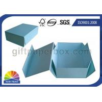 Quality Logo Printed Custom Cardboard Paper Collapsible Box for Clothing Garment Apparel for sale