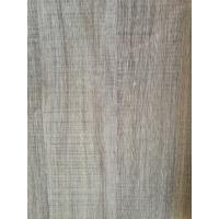 Quality Printed Grey Wood Grain Decorative Paper Surface Abrasion Resistance 500kg / Roll for sale