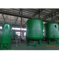 Quality Silica Sand Filter Ro Pressure Water Purifier Tank In Suspended Solids And Turbidity Reduction Dia 600-3000 Mm for sale