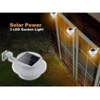 Quality Solar Gutter Lights / Solar Powered Outdoor Lights Sealed Without Electrolyte Leakage for sale
