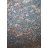 Tan Brown Granite Stone Floor Tiles Big Slabs Countertop Skirting Pillar for sale
