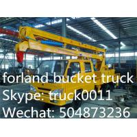 China Foton Aumark  4*2 LHD/RHD 14m aerial platform truck for sale, best price FOTON brand 14m-16m hydraulic bucket truck on sale