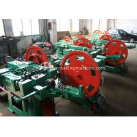 Quality Wire Nail Manufacturing Machine / Nail Production Machine With Automatically Feed for sale