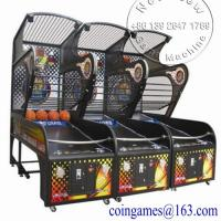 Buy Indoor Amusement Games Coin Operated Basketball Game Machine. at wholesale prices