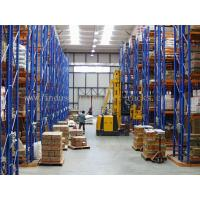 Quality 5 Beam Level Very Narrow Aisle Racking 16.5 FT Height Palletised Warehouse System for sale