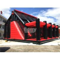 Buy cheap Attractive Rides Jump Kids Red Drop Tower Inflatable Interactive Games / Funny from wholesalers