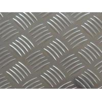 Quality China Supplier Bright Surface Five Bars Aluminum Checkered Plate 5052 Checker plate Anti-slip Plate for sale