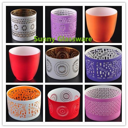 ceramic candle holders