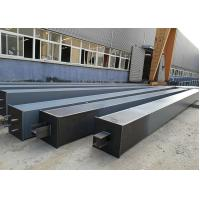 China Building Construction Material Structural Steel /  Box Steel Column Beams Fabrication on sale
