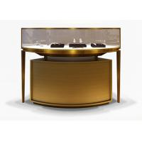 Quality Luxury Veneer Stainless Steel Jewelry Display Cases / Jewellery Display Counter for sale