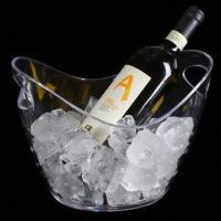 China Acrylic Ice Bucket, Customized Designs and Logos are Accepted on sale