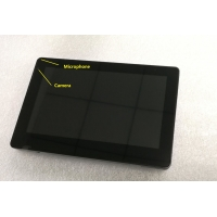 Quality No Physical Button Android OS 7 inch Industrial Control Interface Wall Android Tablet with Ethernet RJ45 for sale