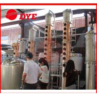 Quality 100Gal Stainless Steel Whiskey Commercial Distilling Equipment 1 - 3Layers for sale