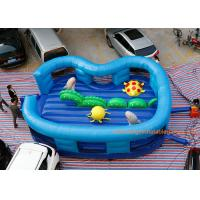 Quality Kids Cartoon Ocean World Inflatable Air Bouncer For Amusement Park for sale