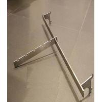 Quality Customized Metal Hanging Bar Shop Display Hooks  300 - 350MM For Clothing Shop for sale