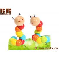 China Colorful Wooden toy Amazing Caterpillar for Children Gift Early Education on sale