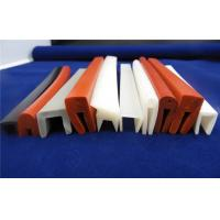 Quality Colorful Silicone Seal Strip / Silicone Sponge Gasket Corona Resistance for sale