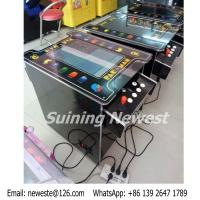 Quality Australia Love PAC MAN Cocktail Table Mini Coin Operated Video Arcade Game Machine for sale