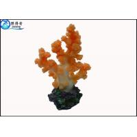Buy Colorful Coral Aquarium Tank Decorations / Resin Cleaning Fish Tank Ornaments Products at wholesale prices