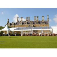 Quality Large Garden  Outdoor Clear Event Canopies Tent With Central Air - Conditioning for sale