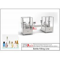 Quality 5-100ML Vacuum Perfume Filling And Capping MachineLarge Capacity With Valve Placer for sale