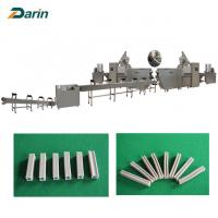 Buy cheap Dog Chews Snack Food Chewing Gum extruder Dog Snacks Extruder with CE from wholesalers