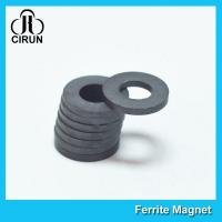 Quality Industrial Large Ring Shape Ferrite Speaker Magnet 53mm X 24mm X 11mm for sale